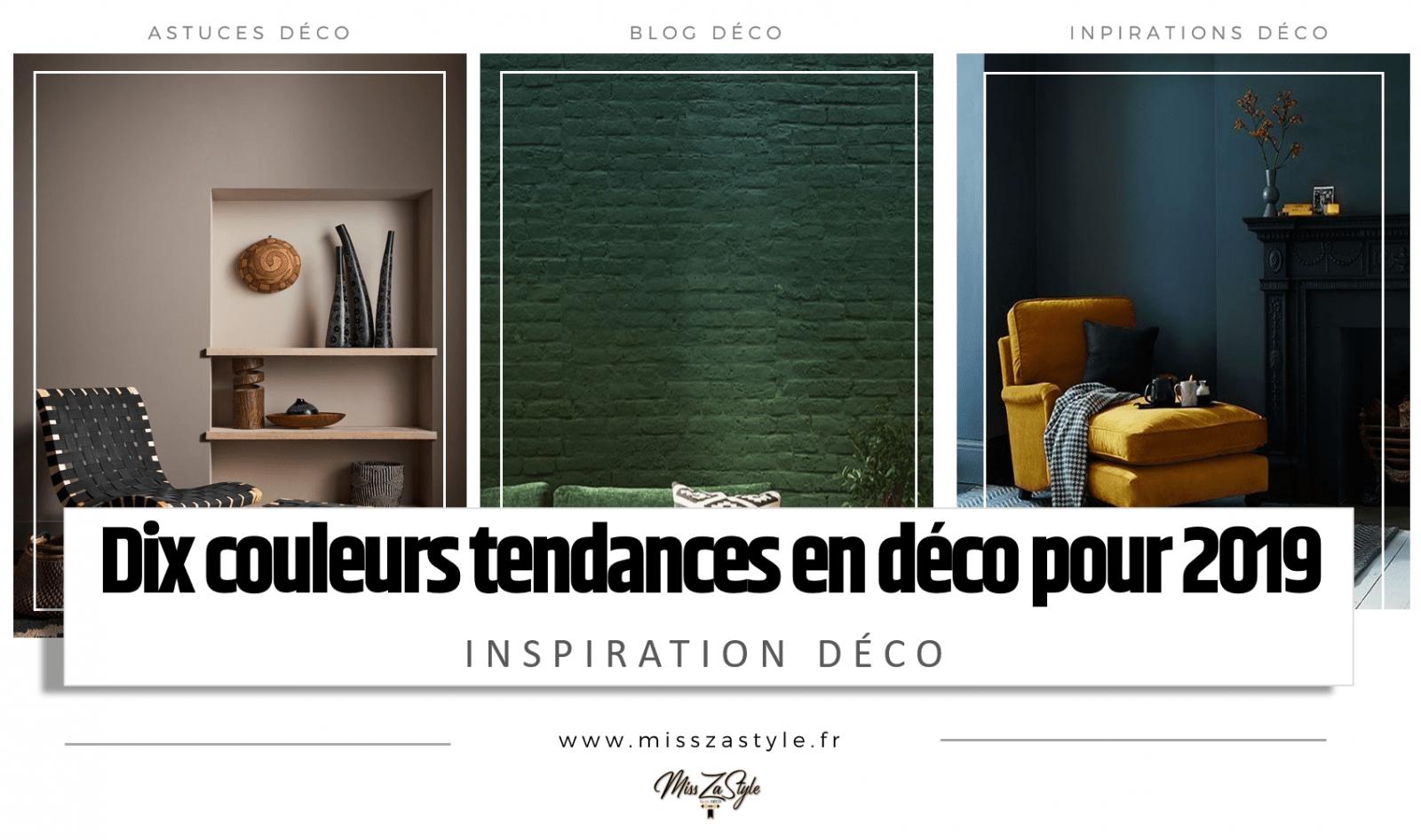 Tendance Couleur Deco 2019 10 couleurs tendances en décoration d'intérieur pour 2019