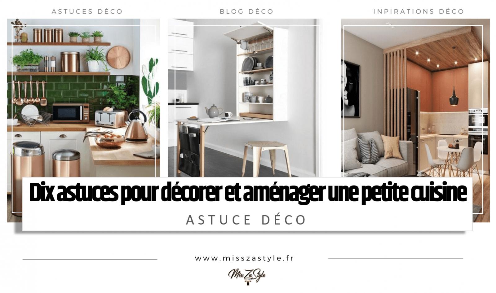 Dix astuces pour décorer et aménager une petite cuisine- Blog Déco