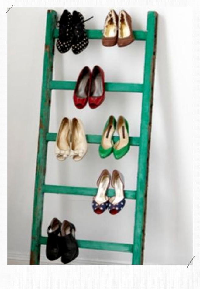 Echelle Rangement de chaussure