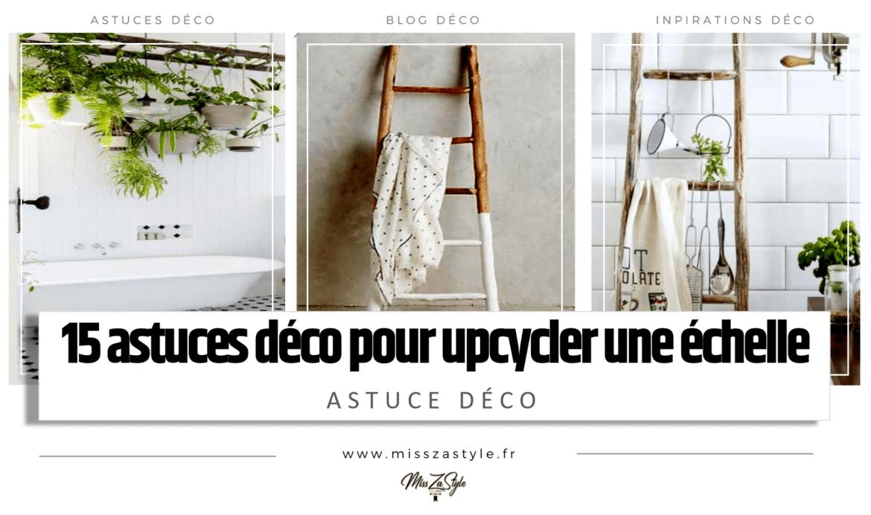 Idee Deco Suspension Salon 15 astuces pour upcycler une échelle- misszastyle - blog déco