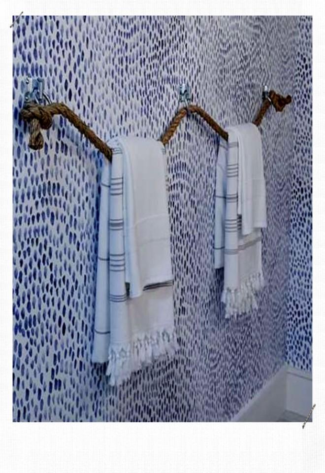 corde porte serviette