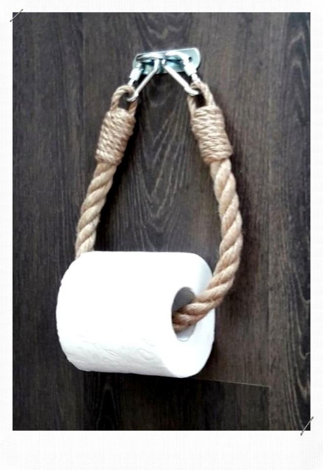 corde porte papier toilette