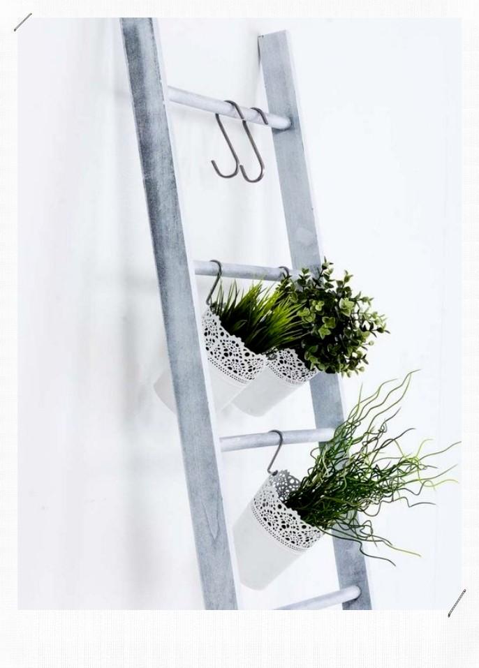 échelle porte plantes