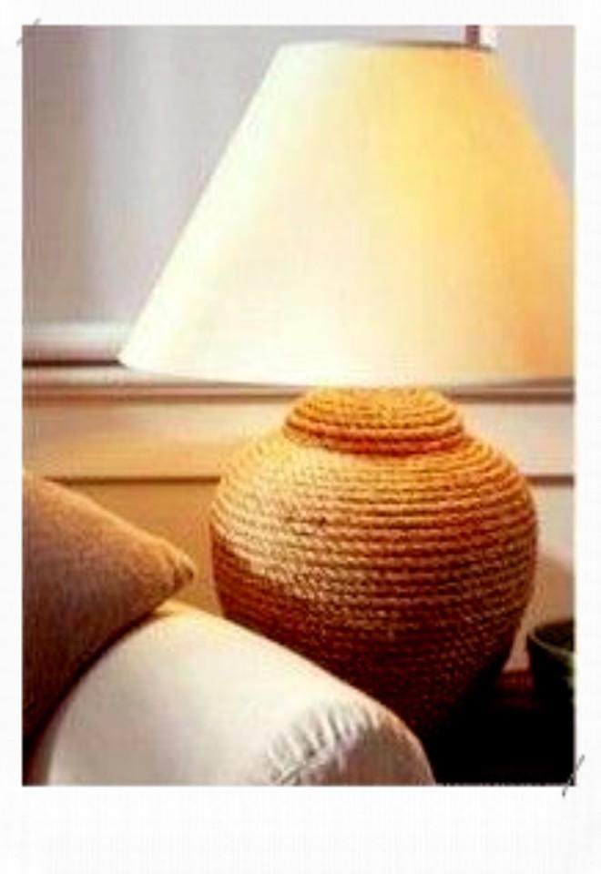 lampe customisée