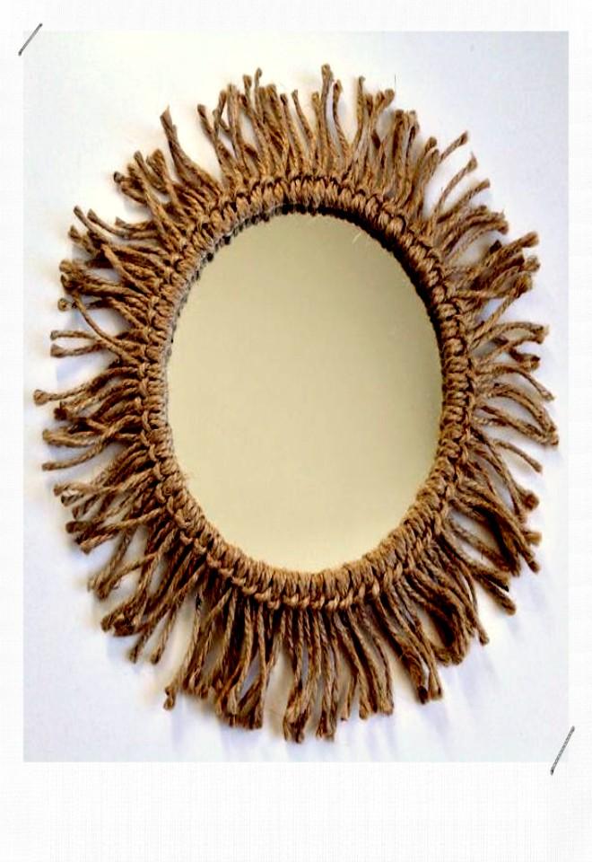 miroir ficelle
