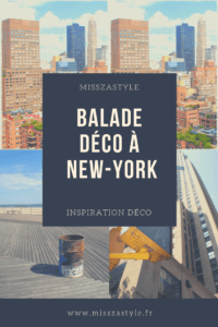 Balade déco à New-York