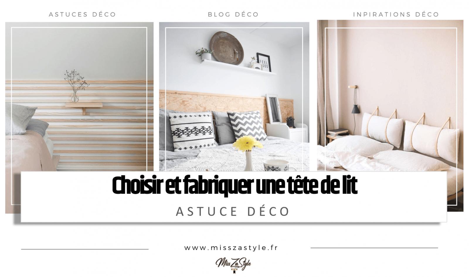 Modele De Lit En Palette choisir et fabriquer une tête de lit- misszastyle - blog déco