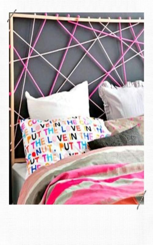 tête de lit en corde