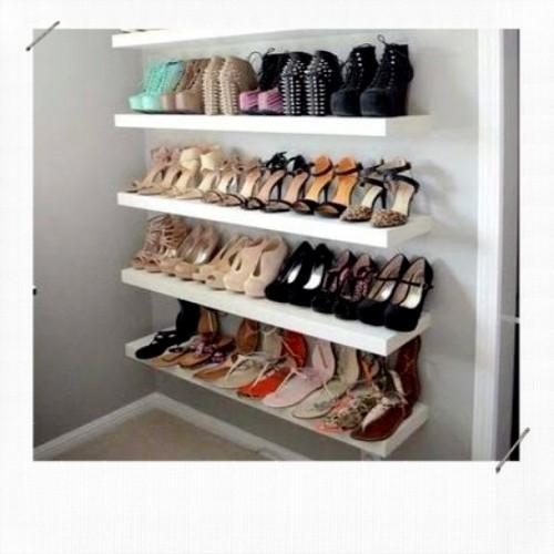 étagère range chaussures