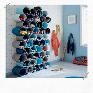 TUBE PVC RANGE CHAUSSURES