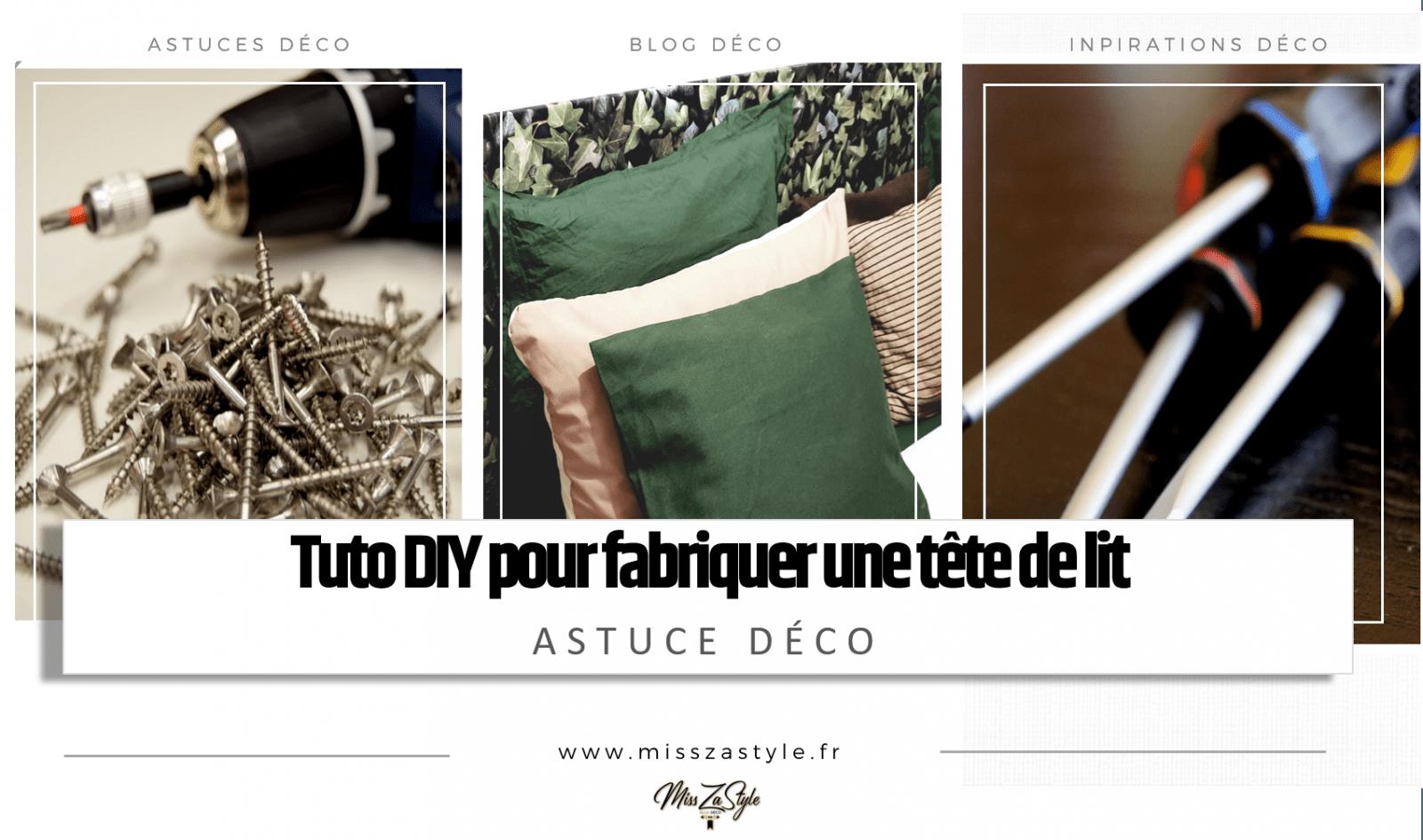 Planche Pour Tete De Lit tuto diy pour fabriquer une tête de lit - misszastyle - blog