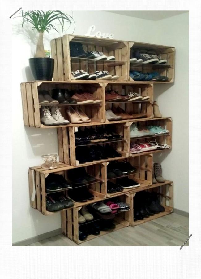 12 Idees Pour Ranger Ses Chaussures Misszastyle Blog Deco