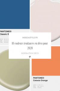 10 couleurs tendances en déco pour 2020