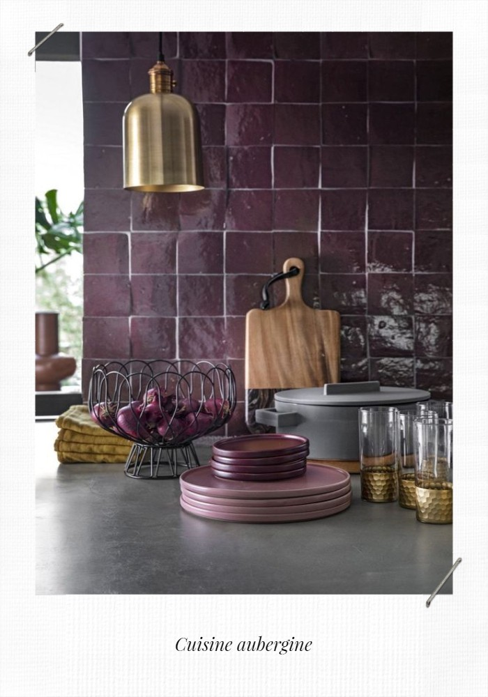 cuisine aubergine