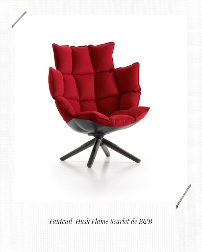 fauteuil husk B&B italia