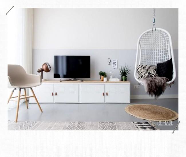 Meuble télé DIY détourné