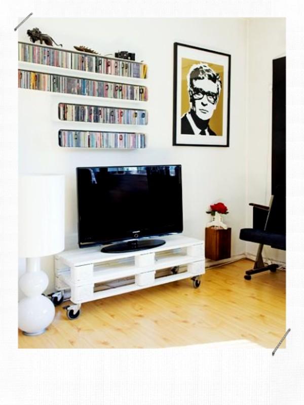 Meuble télé DIY palettes