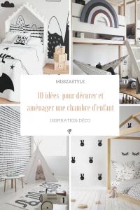 10 idées pour décorer et aménager une chambre d'enfant