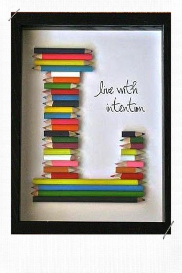 Décorer avec des lettres et des mots