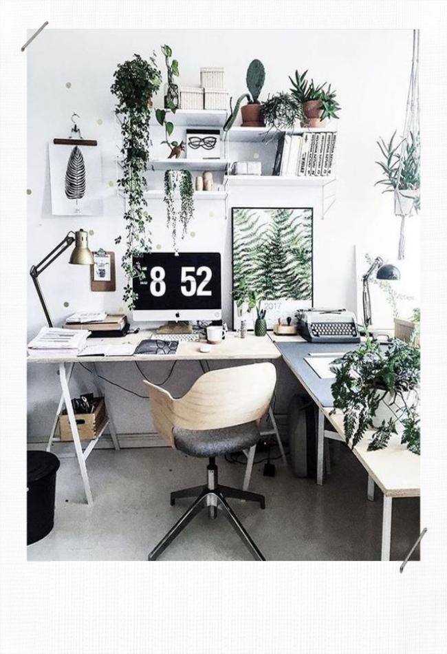 Décorer un bureau