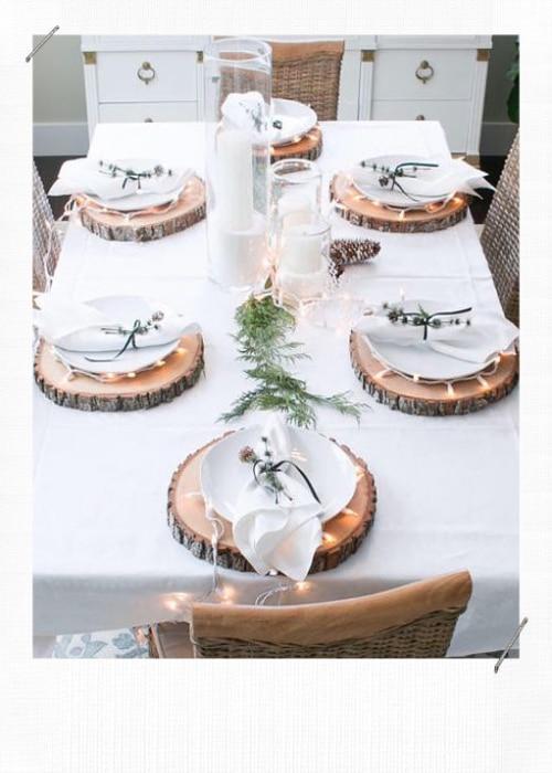 Astuces déco pour une table de fêtes sublime