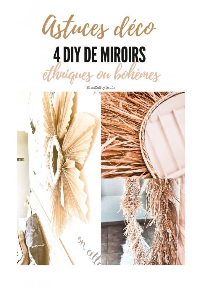 4 DIY de miroirs ethniques ou bohèmes